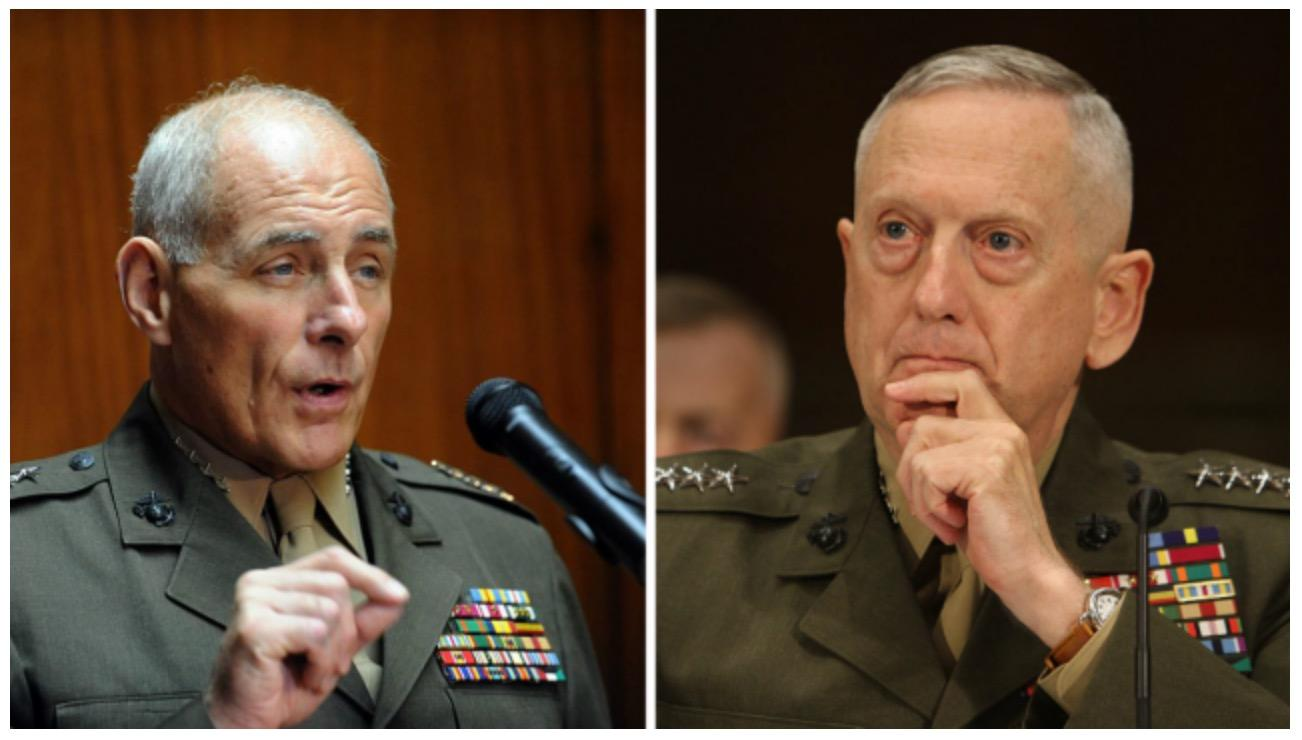 After 80-Plus Years In Military, Mattis, Kelly Breathe Sacrifice And Service