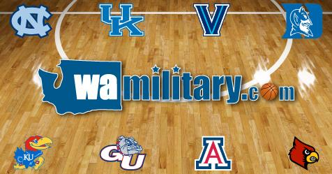 Welcome to the Washington Military Community Bracket Challenge