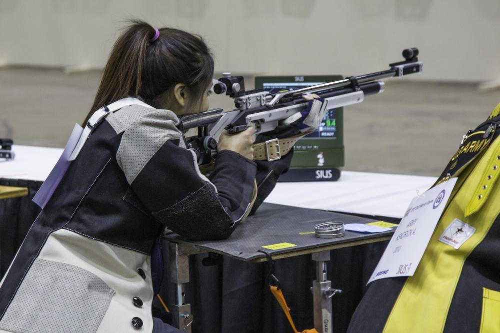 JBLM SPC. Scores 5th in Air Rifle at Warrior Games