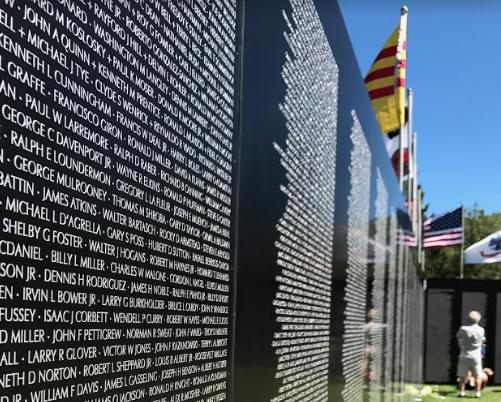 Traveling Vietnam Memorial Visits DuPont