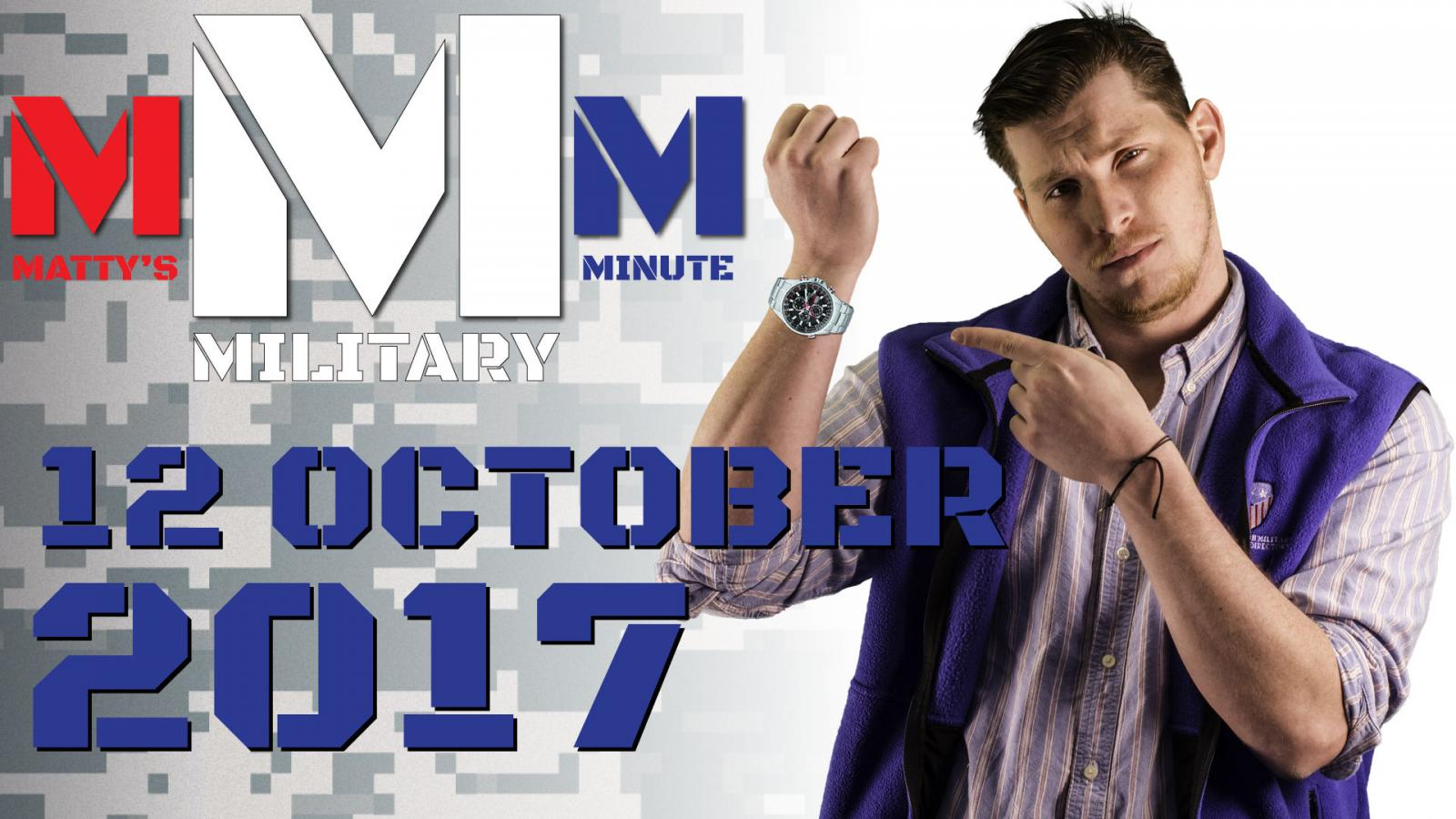 Thumbnail: Military Minute - October 19th