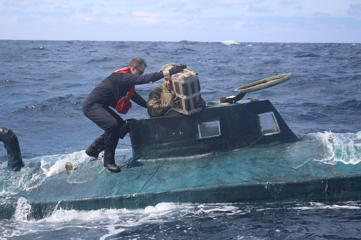 Coasties intercept NARCO sub carrying $165M in cocaine