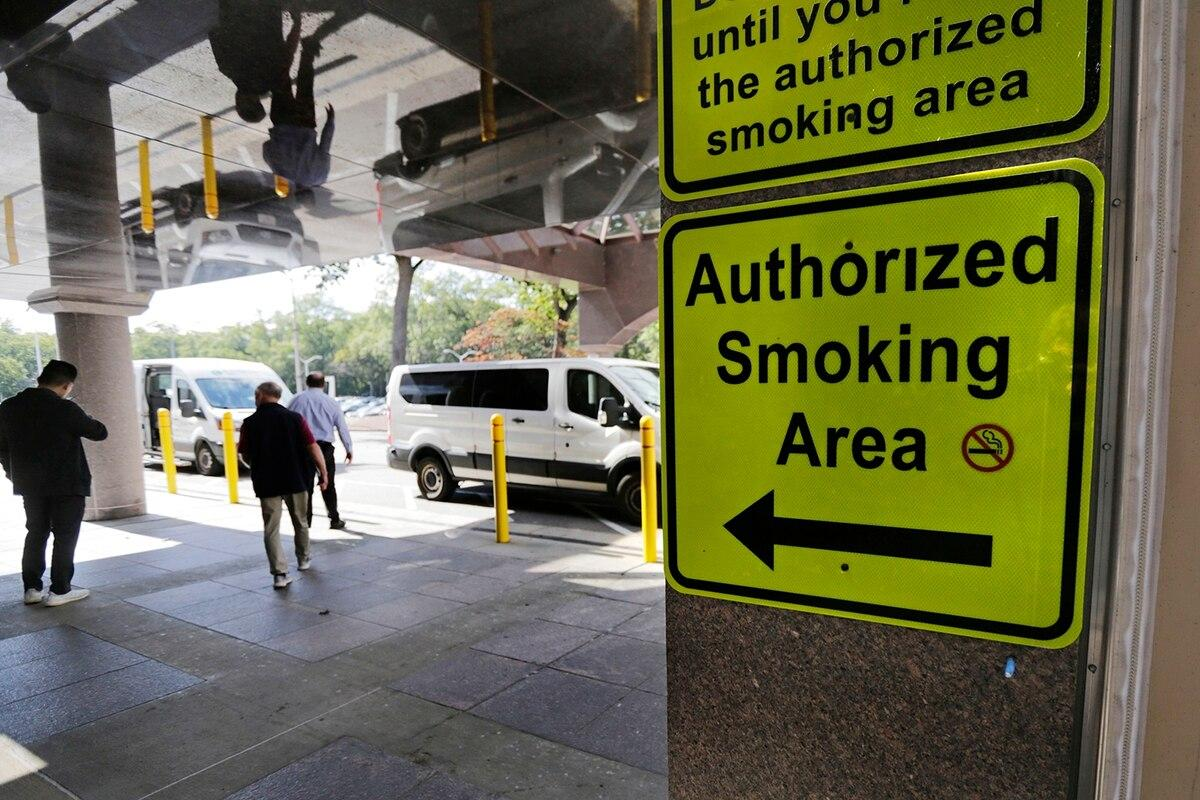 Nationwide smoking ban at VA facilities has some veterans fuming