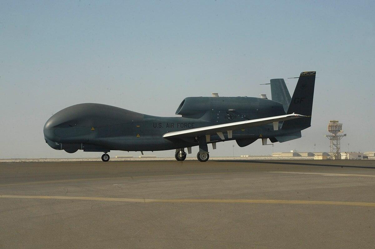 Rank doesn't matter, only ability: First all-enlisted crew operates RQ-4 Global Hawk in theater