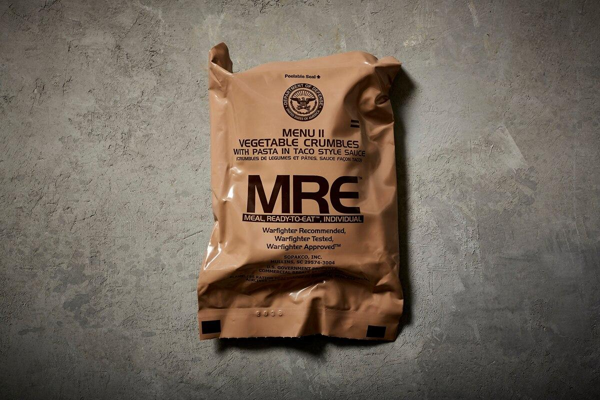 Meal, Refusing-to-Exit — scientific study backs long-held belief that MREs make it harder to defecate