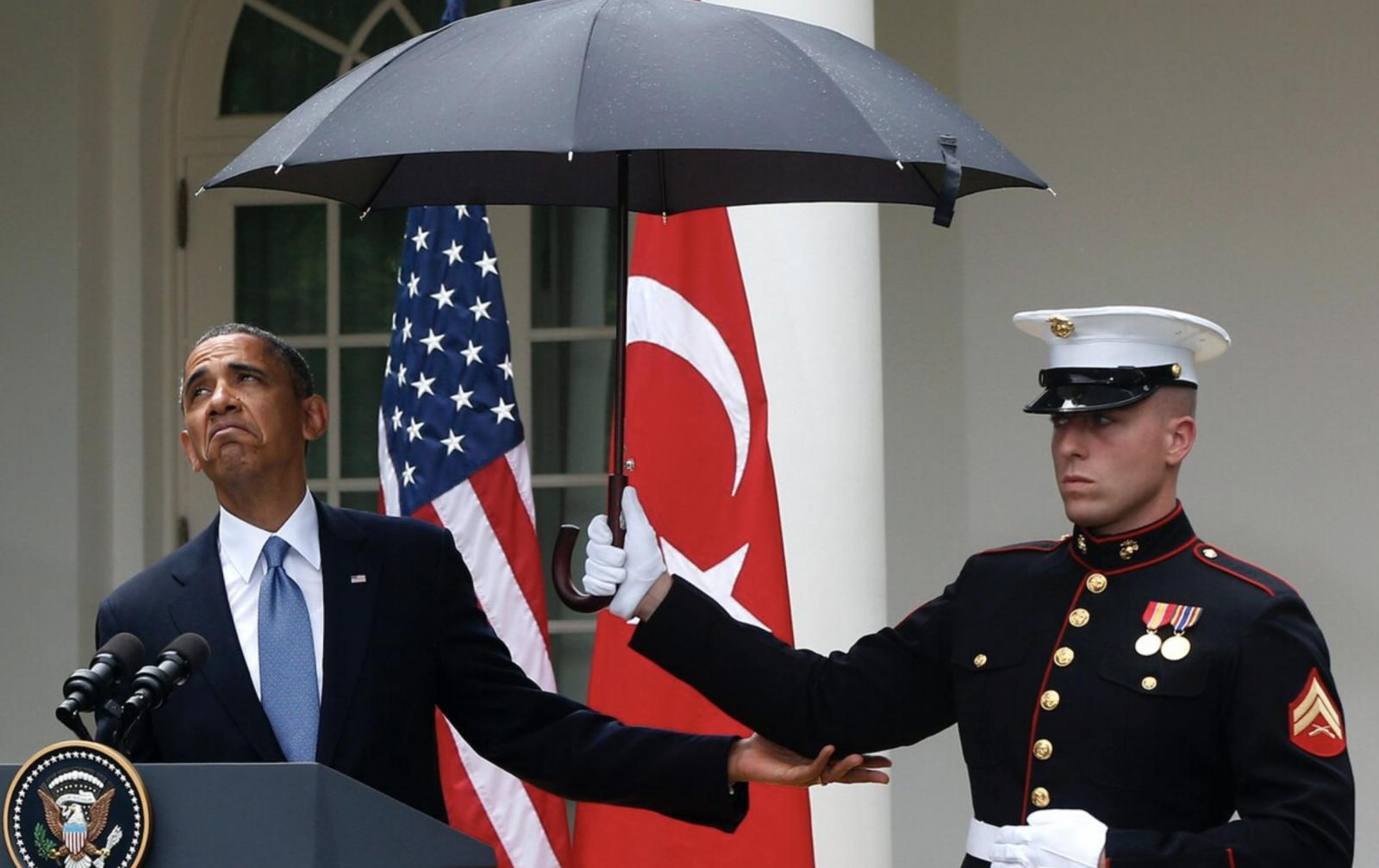 Umbrellas for male Marines, silver earrings for female Marines: Corps makes uniform changes