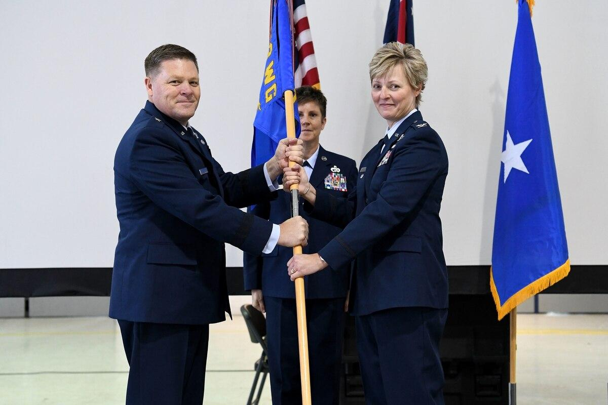 Air National Guard's 178th Wing gets 1st female commander