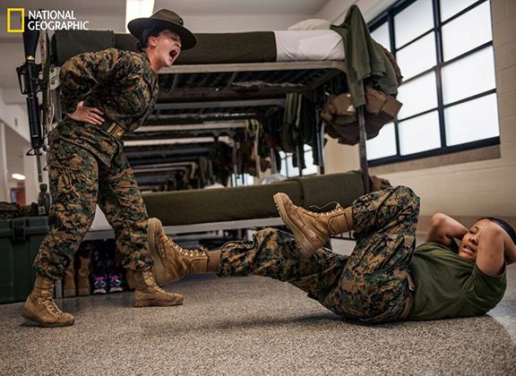 Capturing the life of women in the military is this photographers passion