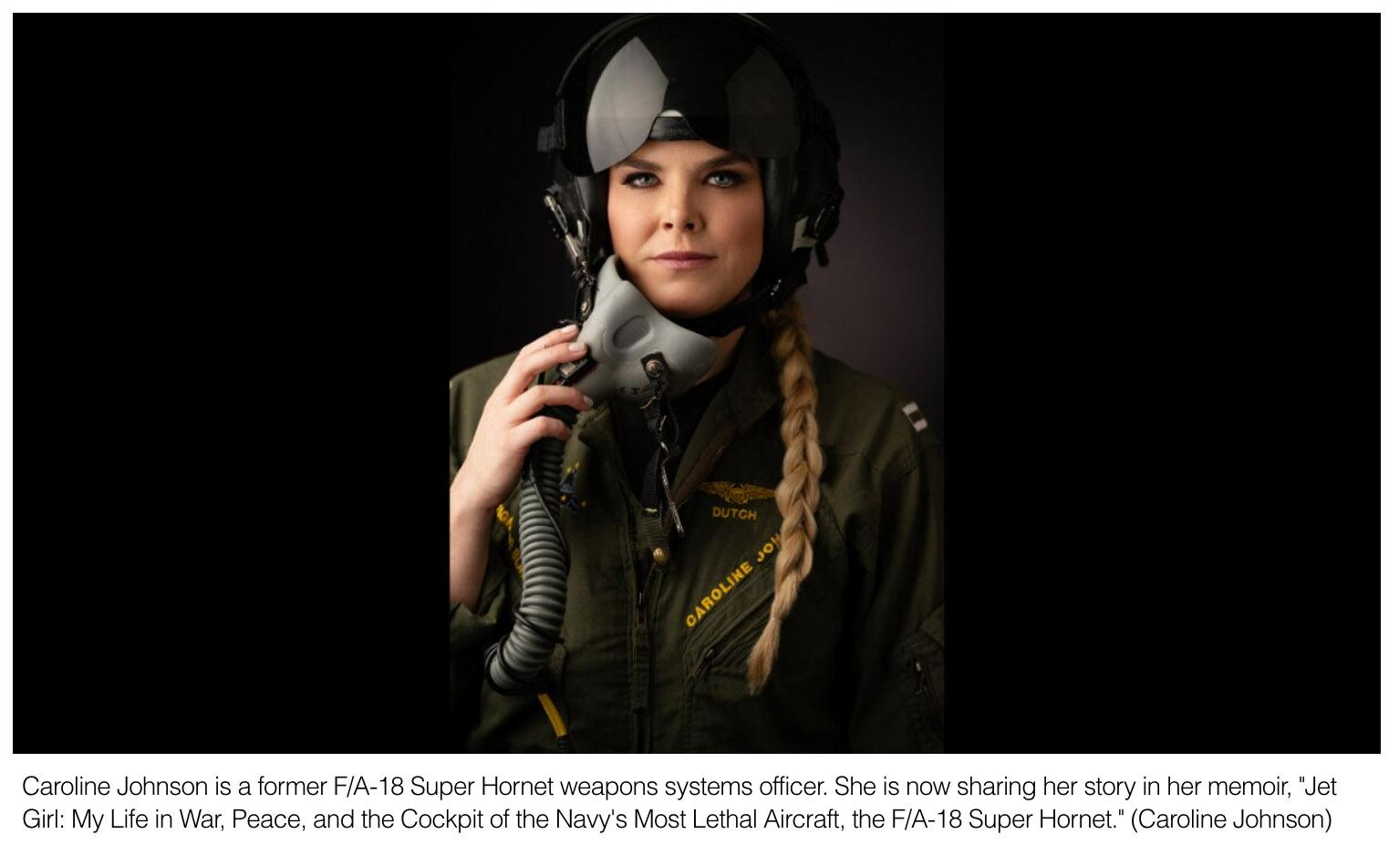 Jet Girls story fighting ISIS in the cockpit of an FA-18 Super Hornet