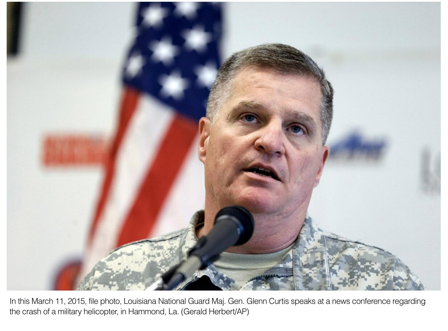 Leadership changing at Louisiana National Guard in January