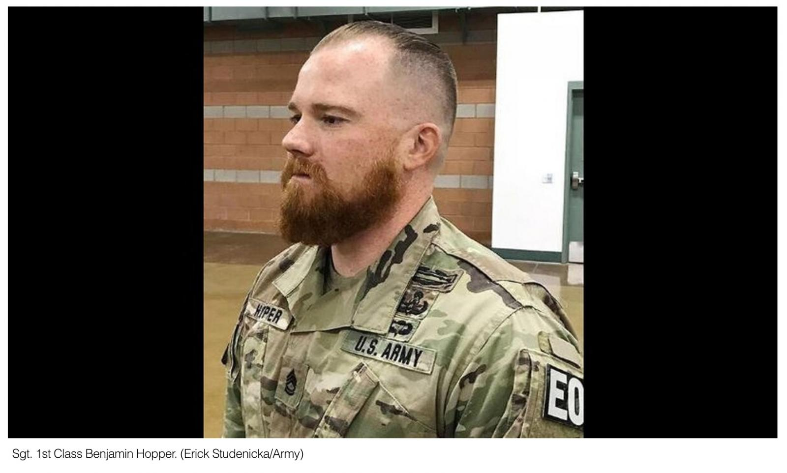 A soldiers Norse pagan faith earns beard waiver