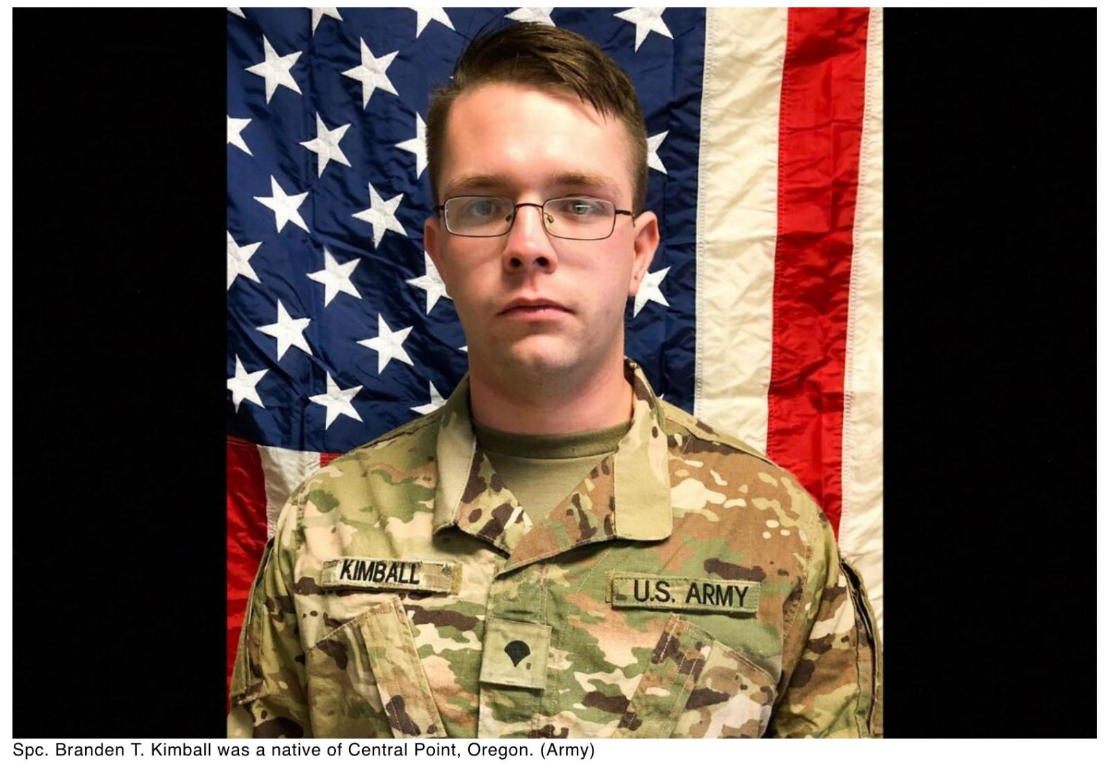 Soldier dies at Bagram in non-combat incident