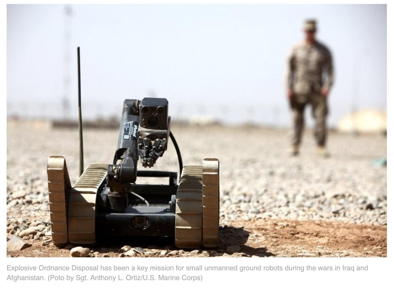 War with robots: how battle bots will define the future of ground combat