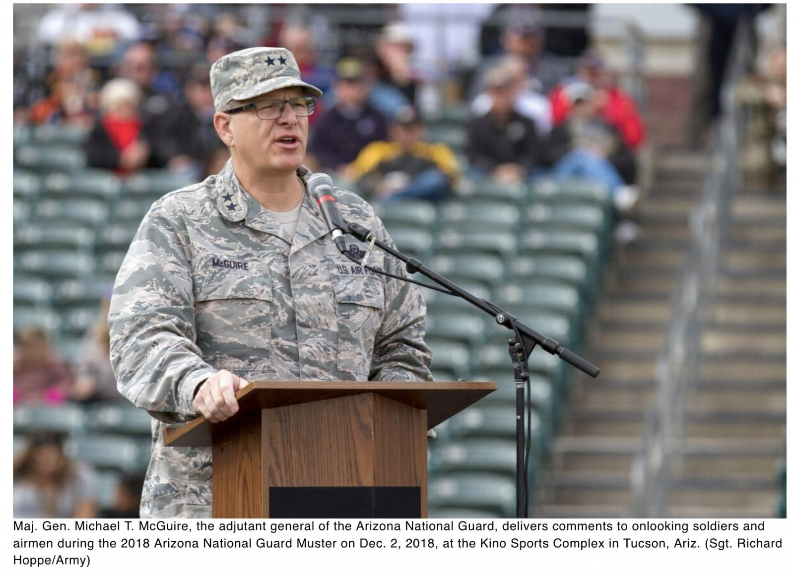 Arizona adjutant general to lead National Guard Association
