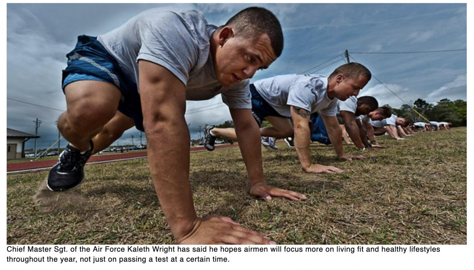 Can digital fitness coaching get airmen in shape? The Air Force wants to know