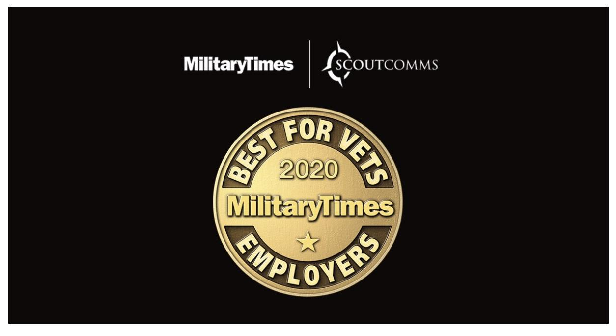 Military Times launches Best for Vets Employer Survey for annual rankings of companies