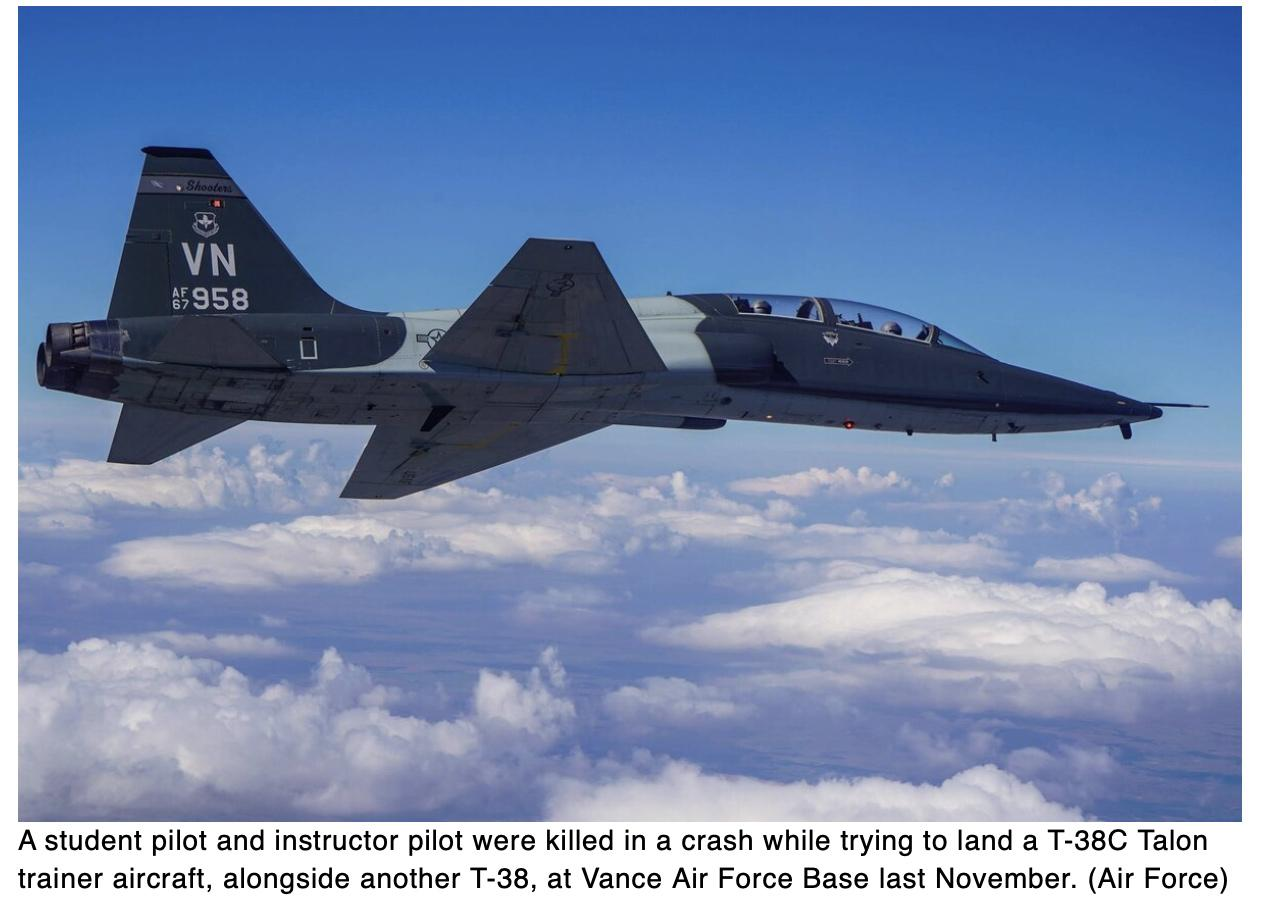 Family blasts fatal T-38 crash report as grossly incomplete, demands simultaneous landings end