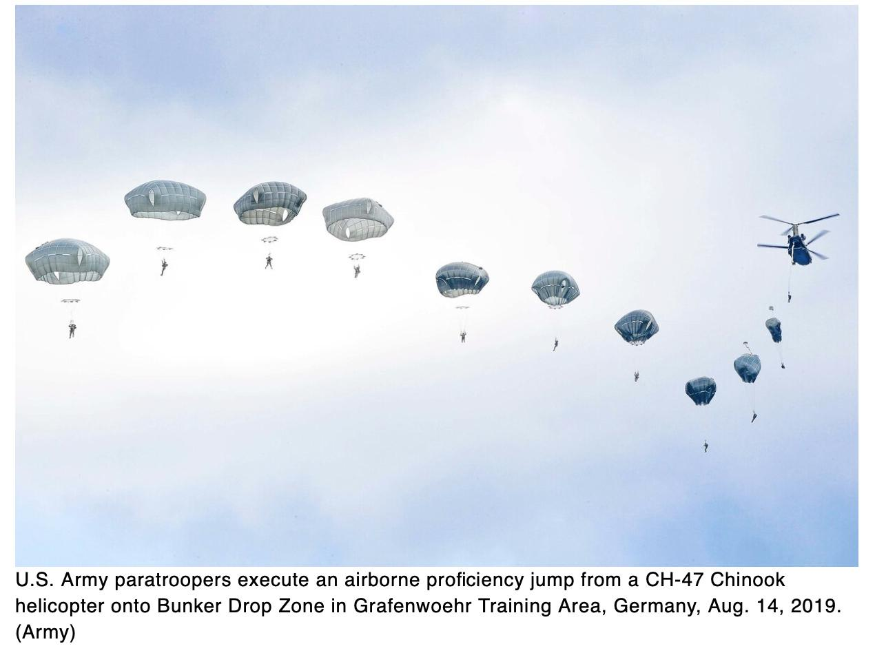 Thumbnail: US paratroopers injured in Germany training accident