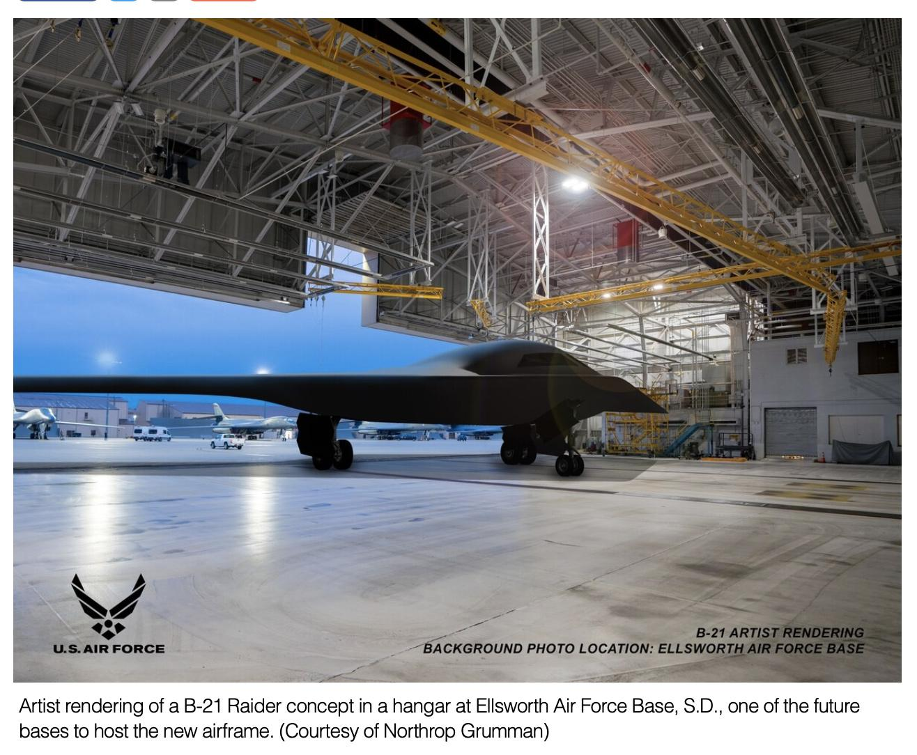 House slides money into B-21 bomber procurement account