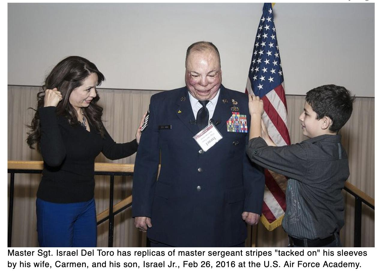 Wounded veteran Israel Del Toro gets apology after being refused entry to Peterson commissary