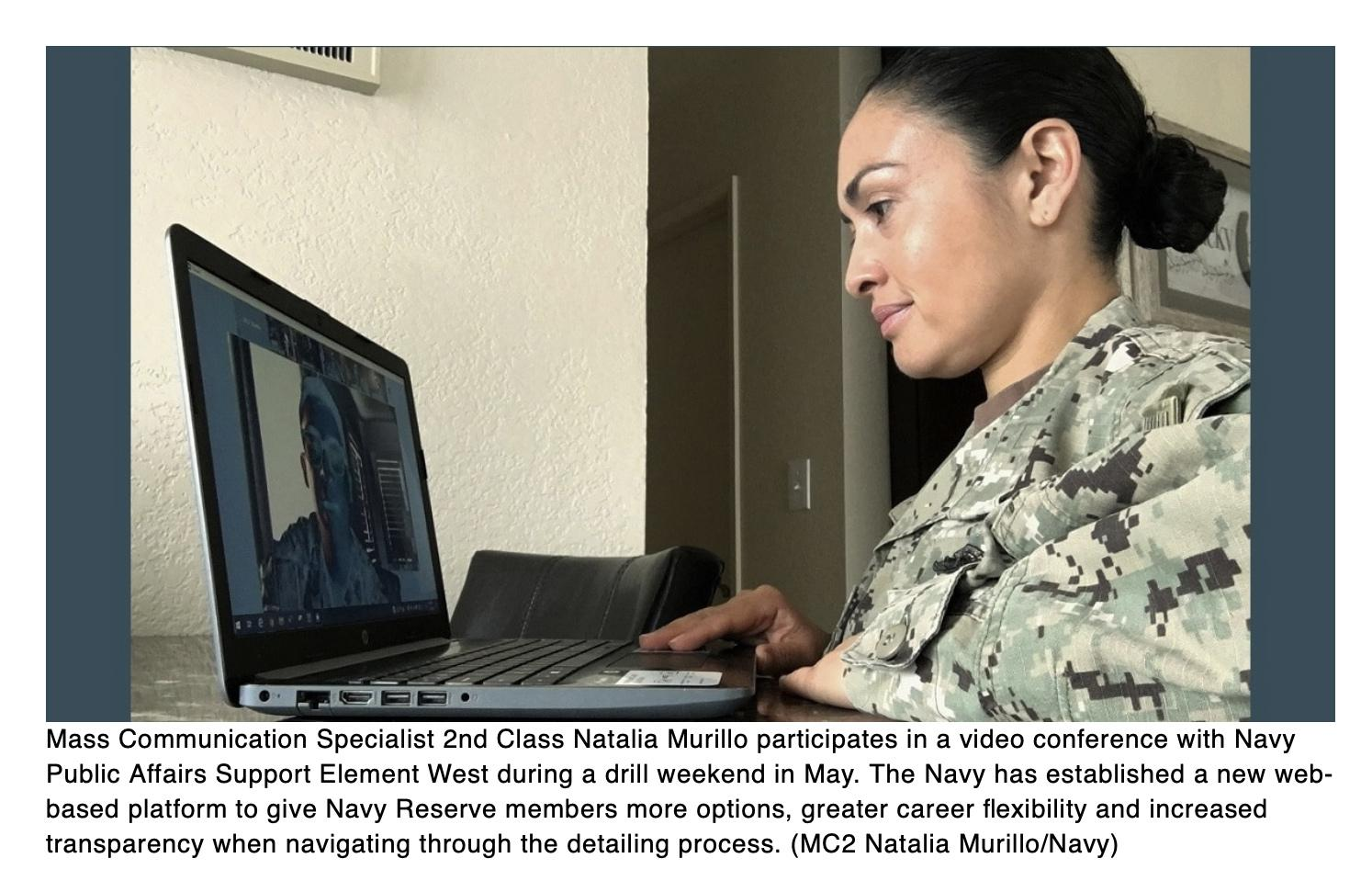 Navy unveils new Detailing Marketplace for Navy Reserve forces