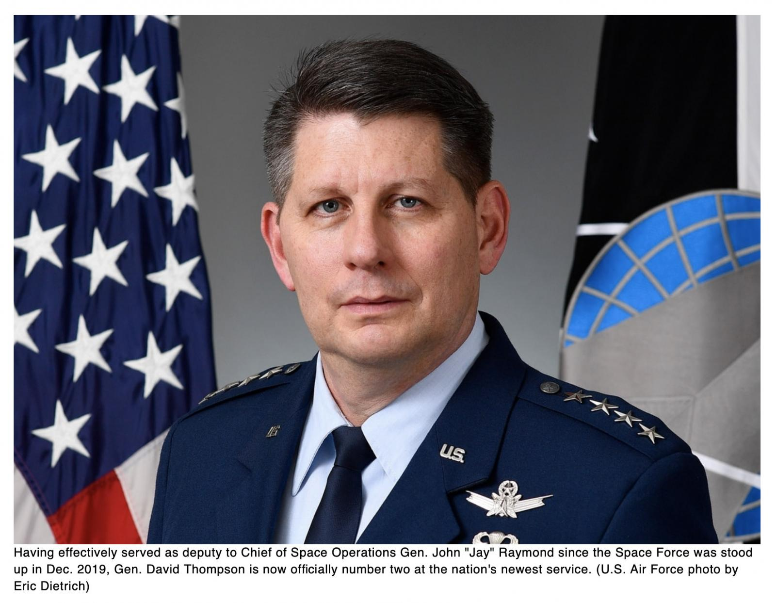 Space Force gets its first vice chief of space operations