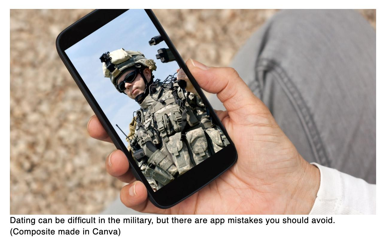 An open letter to military dudes on dating apps