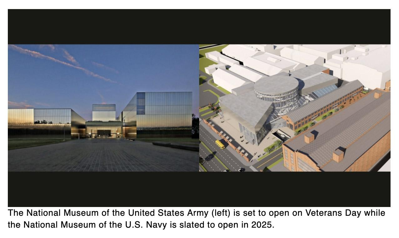Heres what you need to know about the new Army and Navy national museums