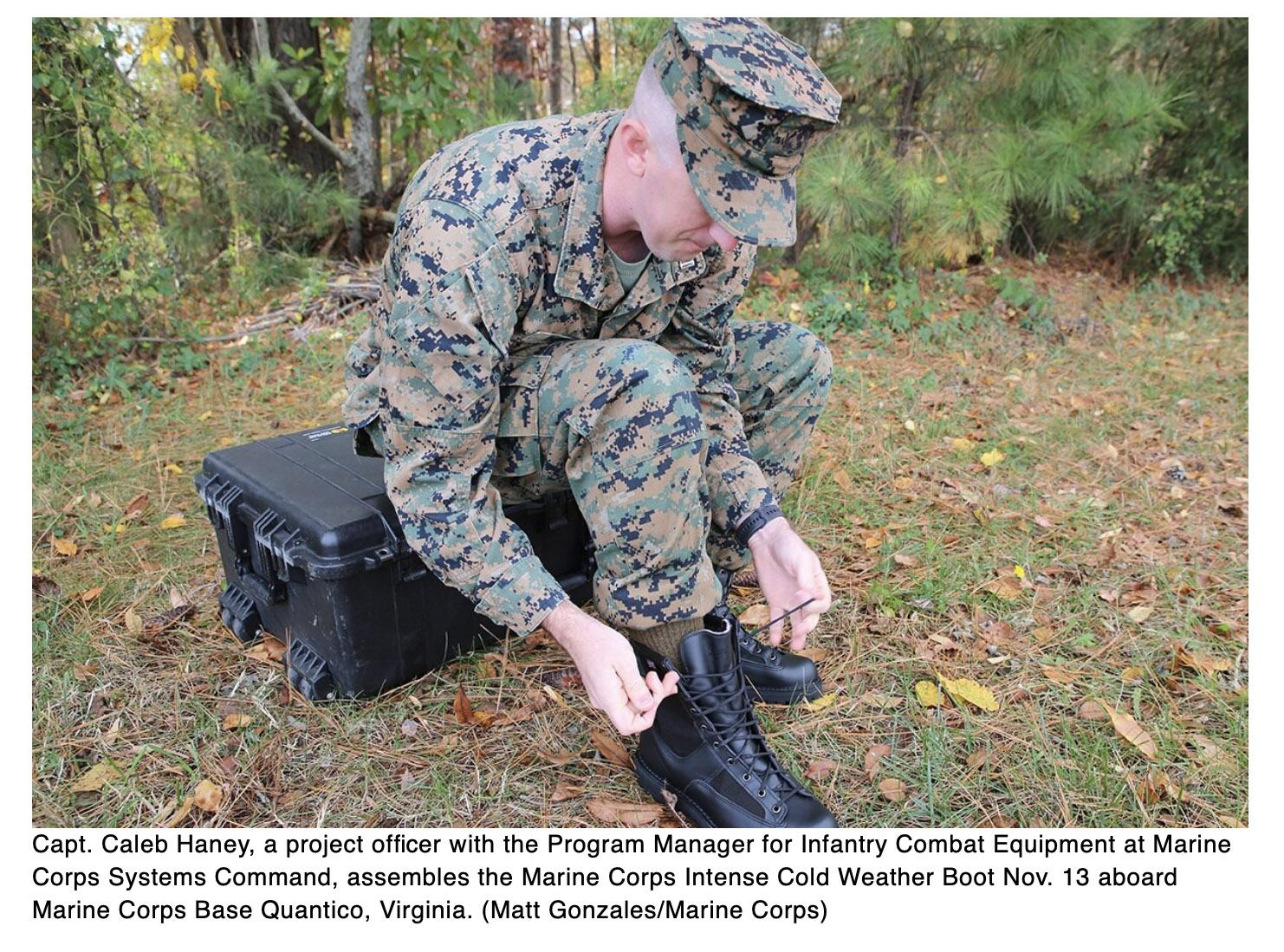 New cold weather boots to hit the Marine fleet in 2021