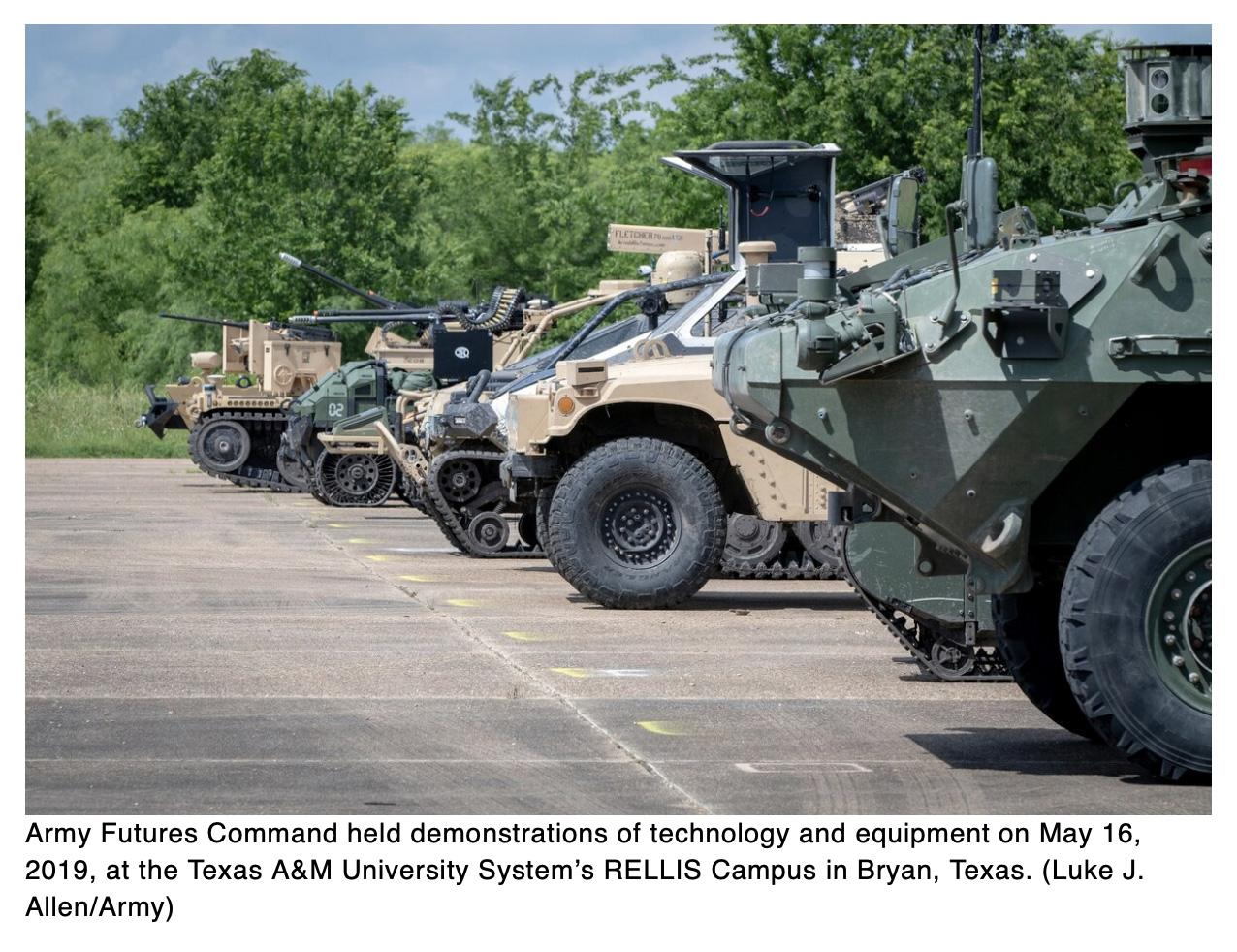 Army partners with Clemson to create autonomous armored vehicle models