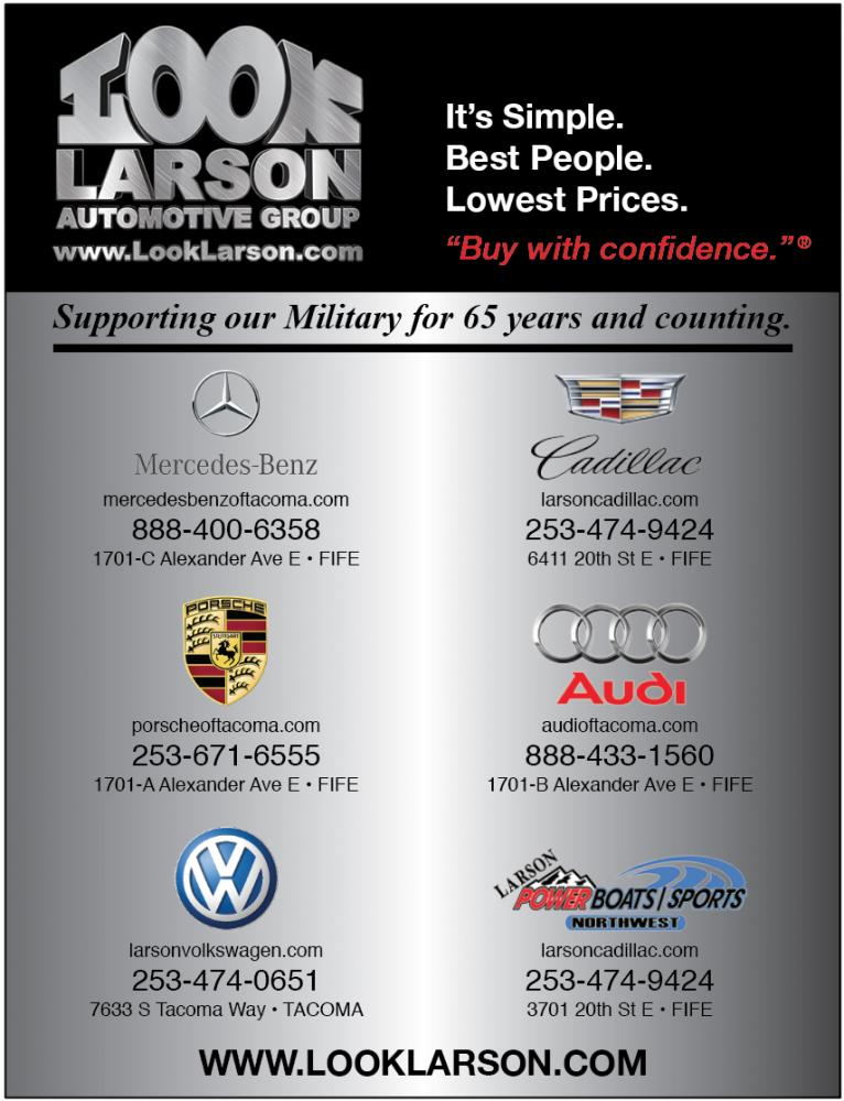 larson automotive group washington military resource directory west coast publishing