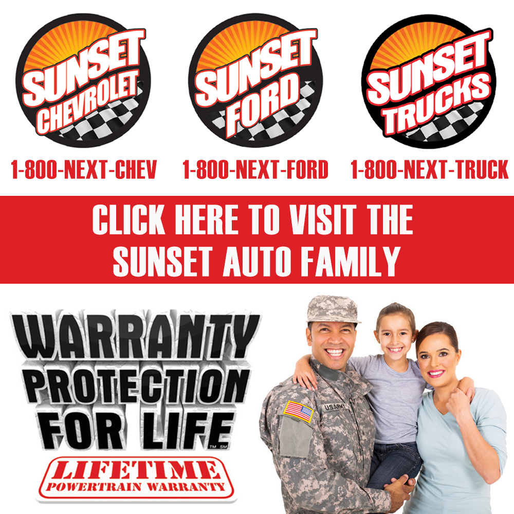 Side ad: Sunset Auto Family