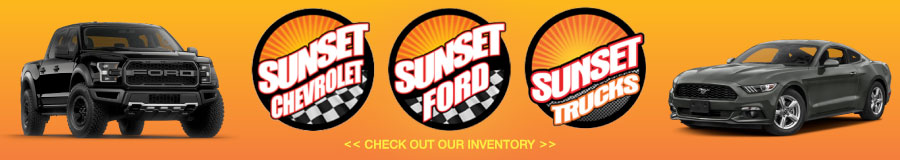 Banner ad: Sunset Auto Family