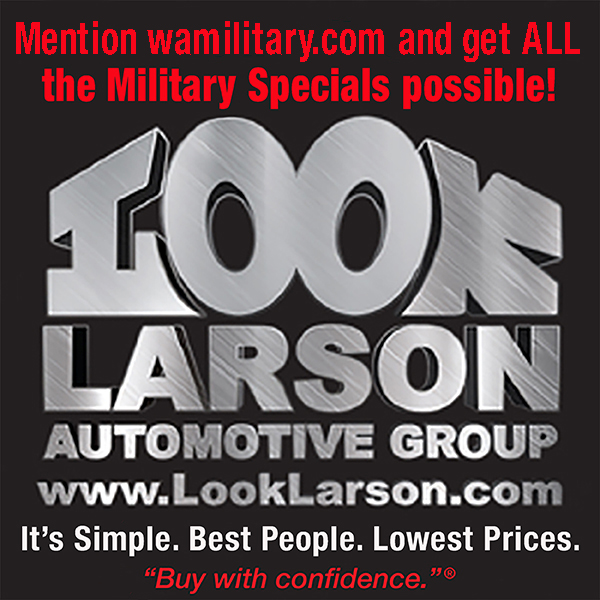 Side ad: Larson Automotive Group