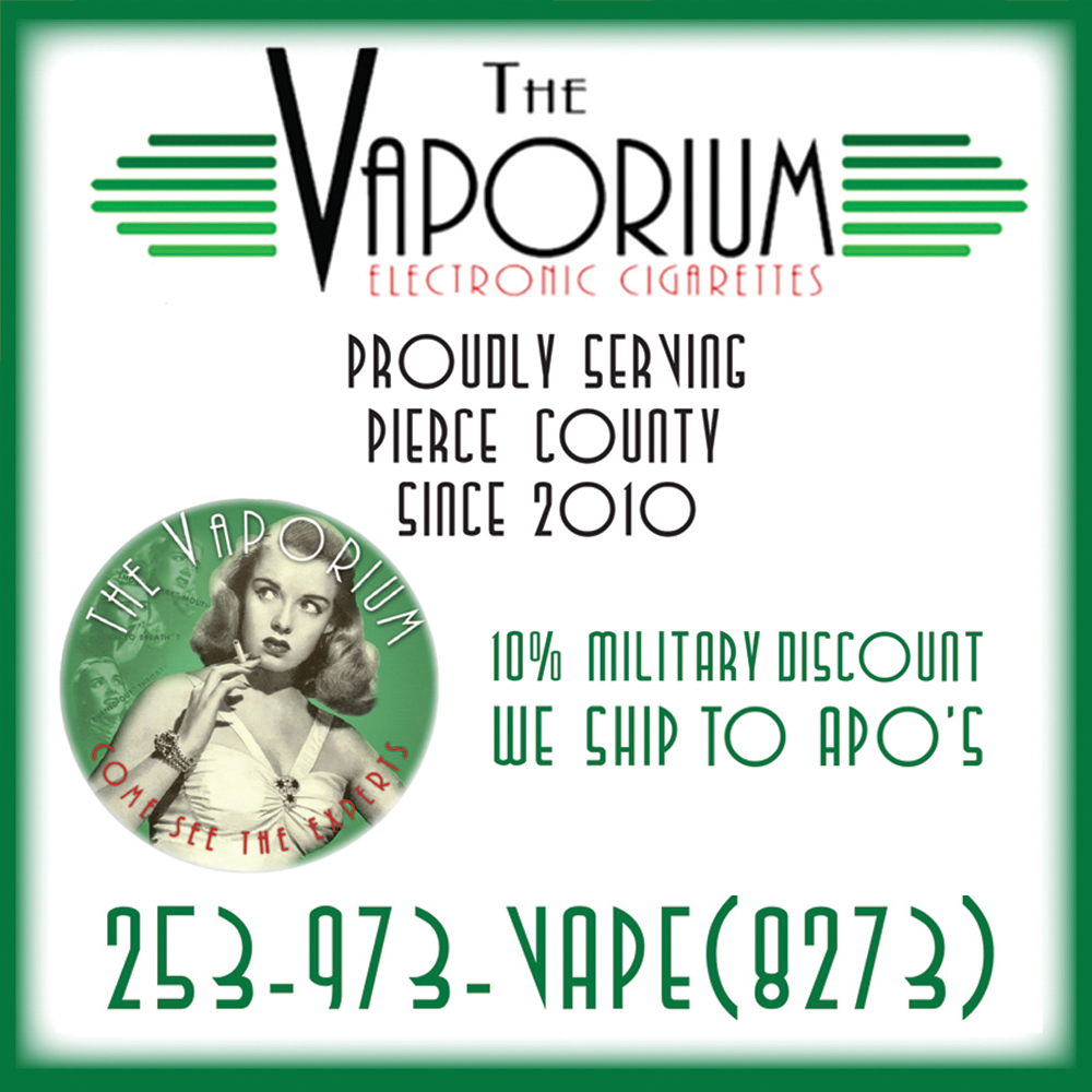 Side ad: The Vaporium