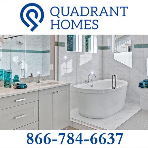 Side ad: Quadrant Homes
